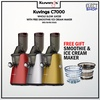 Kuvings C7000 Whole Slow Juicer (Red) / (Silver) / (Gold) with Free Smoothie and Ice Cream Maker