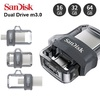 2017 NEW Sandisk Ultra Dual USB Drive m3.0 OTG Faster Transfer for Android to Computer PC
