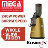 Kuvings C7000 Red Whole Slow Juicer / Free Gift