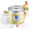 Bear SNJ-530 Yogurt Machine Home Fully Automatic Rice Wine Machine High Capacity Ceramic Liner Microcomputer Timing
