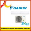 Daikin SMILE Series Inverter System 2 **5 TICKS** (CTKS25QVM / 2 + MKS65QVMG) Air-con