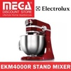 Electrolux Stand Mixer Ekm4000R Led Working Light 1000W Motor