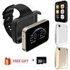 Smart phone watch i5S rectangle 2.2 inch colorful large screen Mini Car Wide-angle Video record Pedometer Smart wristband watch PK DM98