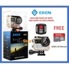 (Genuine) EKEN H8R Ultra HD 4K 30fps Wifi Sports Action Camera Cam Dual Screen Remote Shutter Camcorder - (BLACK +16GB)
