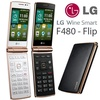 LG [In Stock] LG Wine Smart F480 Flip Phone With Android v4.4 KitKat /mobile phone/cell phone
