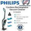 ★ Philips FC6409 Cordless Rechargeable Vacuum Cleaner ★ (2 Years World-Wide Warranty)