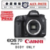 CANON EOS 7D MARK II (BODY ONLY) / LOCAL CANON AGENT SET / 1 YEAR WARRANTY / PROFESSIONAL DSLR CAMERA