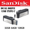 Sandisk Ultra Type-C 32GB 64GB 128GB Type C Dual USB Drive 3.1 OTG Android Samsung S8 Huawei Macbook