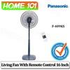 Panasonic Living Fan 40cm With Remote Control [F-409KS]