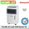 Honeywell Portable Air Cooler 15L Remote Ctrl CL151