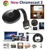 NEW Google Chromecast 2 Digital HD HDMI Media Video Streamer (Color: Black) (Color: Black)