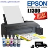 EPSON L1300 / 1300 / L1300 / EPS L1300 PRINT UP TO A3+ SIZE COLOR INK TANK SYSTEM PRINTER 100-240V