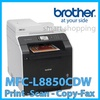 Brother Printer MFC-L8850CDW Wireless Color Laser Printer with Scanner Copier and Fax