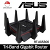 ASUS RT-AC5300 Wireless AC5300 Tri-Band Gigabit Router AiProtection w Trend Micro Complete Network Security / RT-AC88U Wireless AC3100 Dual-Band Gigabit Router.3 Yr ASUS Warranty