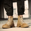 In Stock!! Martin Boots Men Retro High Top Boots Desert Boots Leather Shoes รองเท้าบุรุษ รองเท้าบุรุษ