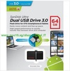 SanDisk Ultra Dual OTG USB 3.0 16/32/64GB Flash Drive SDDD2 Transfer Files Easily Android Smartphone