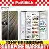 Hitachi R-M700AGP4MSX Side-By-side Refrigerator (584L) - Singapore Warranty