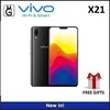 VIVO X21 6/128GB. 2 Year Warranty by VIVO Singapore. Free Gifts Pack