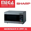 SHARP R-299T(S) 22L TOUCH CONTROL MICROWAVE OVEN / LOCAL WARRANTY