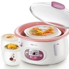 Bear DDZ-118TA Fully automatic Multifunction Electriccooker white porcelain appointment mini porridge soup pot 1.8L - intl