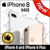 [ Apple ] ★ Apple iPhone 8 and iPhone 8 Plus ★ New condition/ 64GB / Stylish design iPhone 8