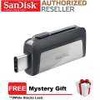 SanDisk Ultra Dual Drive 64GB 130MB/s USB Type-C for Android Smartphone & Tablets (SDDDC2-64G-G46)