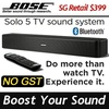 [Bose] ® Solo 5 TV sound system / Bluetooth Soundbar / With TVLaptop/ remote control /NO GST