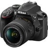 Nikon D3400 with AFs18-55mm VR Kit black -export