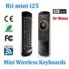 Rii mini i25 2.4GHz Fly Air Mouse Wireless Keyboard Remote for Android mini PC TV Box Tablet PC Smart TV