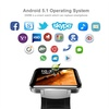 Smart Watch DM98 Card-inserted GPS 2.2&quot  Display Smart Phone with LED Dual Core 1.2G 900Mah Came