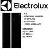 ELECTROLUX ESE6201BG 562L BLACK SIDE BY SIDE FRIDGE/REFRIGERATOR