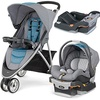 [sb]Chicco Coastal Viaro Stroller Travel System with extra Keyfit 30 Base - Anthracite[USA]