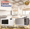 *Multi Microwave Oven* Panasonic NN-ST25JWYPQ / Sharp Sharp R22A0(SM)V 20L / Cornell CMO-S20L 20L