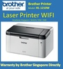 Brother Laser Wireless Printer HL-1210W Mono 3 Years Warranty by Brother Singapore directly