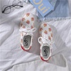 UNIKEE รองเท้าผ้าใบ Vans_OLD SKOOL รองเท้าสำหรับผู้หญิงข้าวโพดคั่วเกาหลีรองเท้าป่าระบายอากาศแนวโน้มแฟชั่นสบาย ๆ กีฬาผ้าใบ OEM ใหม่