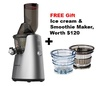 Kuvings C7000 Whole Slow Juicer (Silver)