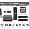 MINIX NEO U1 TV Box Amlogic S905 Quad Core Android 5.1.1 Bluetooth 4.1 HD 2.0 2.4GHz / 5GHz Dual-band WiFi Google TV Player with Free A2 Lite Air Mouse(U1+A2 LITE) - intl