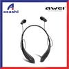 Awei A810BL Bluetooth Wireless Neck Strap Style Headset In-EarHeadphones - intl