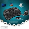 TD Rii I8 Mini 2.4Ghz Wireless Touchpad Keyboard With Mouse For Pc, Pad, Xbox 360, Ps3, Google Android Tv Box, Htpc, Iptv (Black)