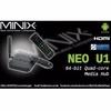 Android MiniX Neo U1 4K TV Media Box + A2 Lite Air Mouse