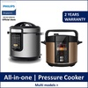 PHILIPS HD2137/62 Viva Collection All-in-One Cooker | HD2139/62  Pressure Cooker