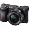 Sony Alpha a6300 Camera with 16-50mm Lens+NPFW50 battery+SD16GB+Bag  black