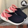 Crocs_Literide_Hot ขายผู้หญิงผู้ชายนุ่มทนทาน Wading รองเท้ากีฬา 36-45