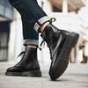 รองเท้าผ้าใบ รองเท้าผ้าใบผู้ชาย รองเท้าแฟชั่น♧◄∋Martin boots high han edition shoes for men and of England the wind tid