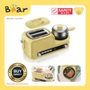 Bear 5 in1 Toaster Breakfast Set with non-stick frying Pan and 6 stage heating control (DSL-A02Z1)