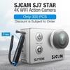 "SJCAM SJ7 STAR 4K WiFi Sports Action Camera 2"" LCD DV Camcorder Ambarella A12S75 Silver - intl"