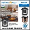 Philips HD2139 / HD2137 Viva Collection All-In-One Cooker - with 2 years internation