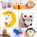 TOFOCO 11 Type Slow Rising Cat/Unicorn/Food Squishy Jumbo Squish Toys Kawaii Squishies Antistress Funny Squeeze Toy For Kids PU