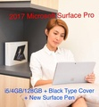Microsoft Surface Pro / i5-4GB-128GB + Black Type Cover + New Surface Pen