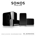 Sonos 5.1 with Play:5 Surrounds White